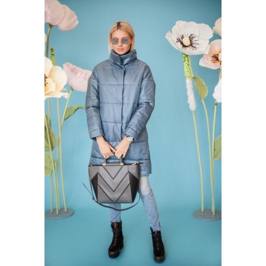 Стёганое пальто В604.55