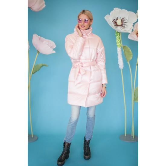 Стёганое пальто В608.99