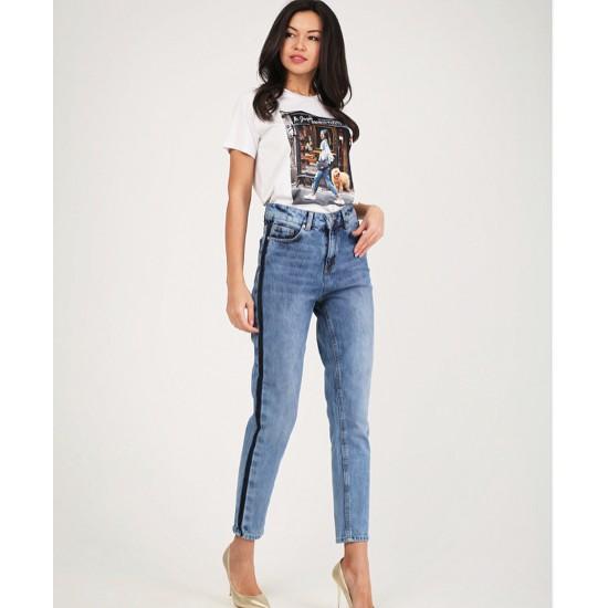T W2696.33 (802-1-coll) брюки джинсовые жен