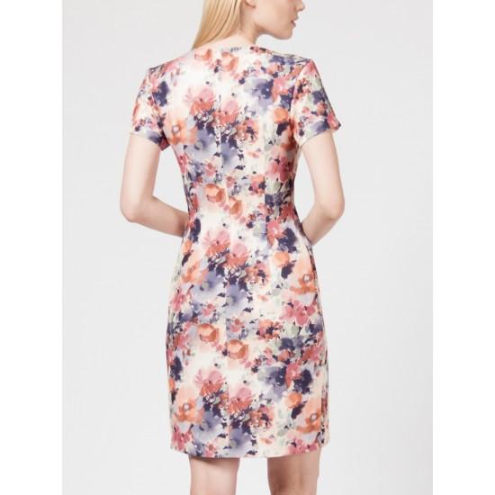 T W7592.24 (602-1-coll) платье жен