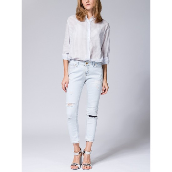 T W2960.32 (701-2-coll) брюки джинсовые жен 32