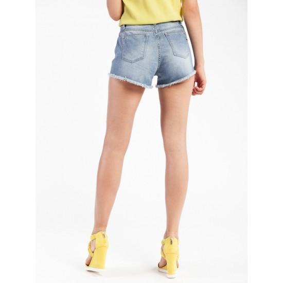 C W5872.33 (504-2-coll) шорты джинсовые жен