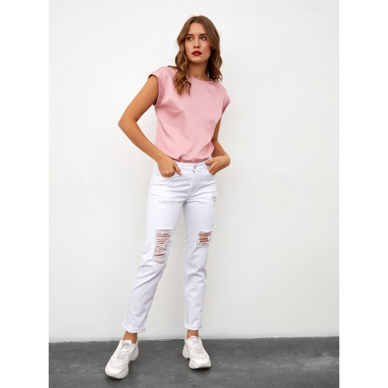 T W2664.50 (903-1-coll) брюки джинсовые жен 32 (S) (8)