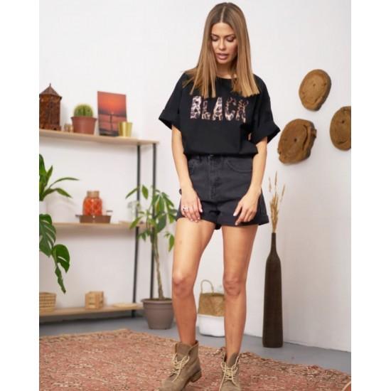 T W2952.57 (903-2-coll) шорты джинсовые жен (S) (5)