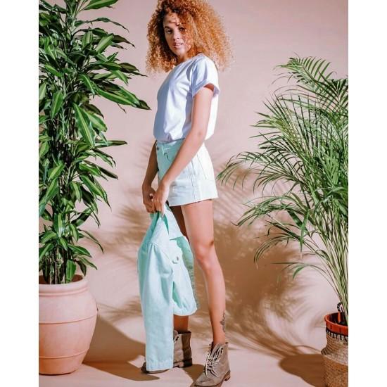 T W2968.10 (903-2-coll) шорты джинсовые жен (S) (5)