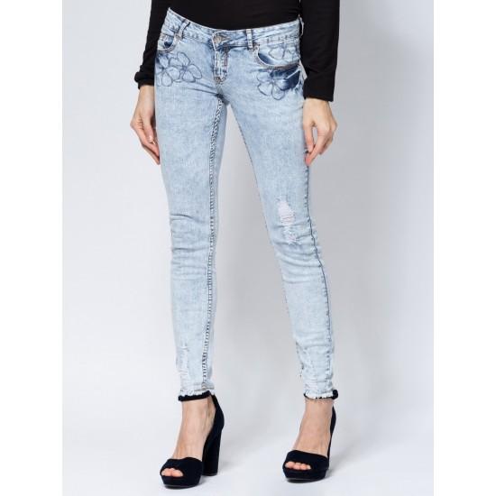 C W5899.32 (505-1-basic) брюки джинсовые жен 33
