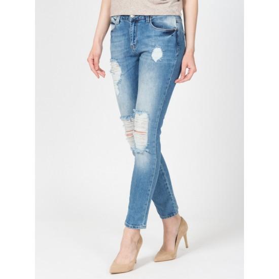 T W2695.35 (603-1-coll) брюки джинсовые жен 32