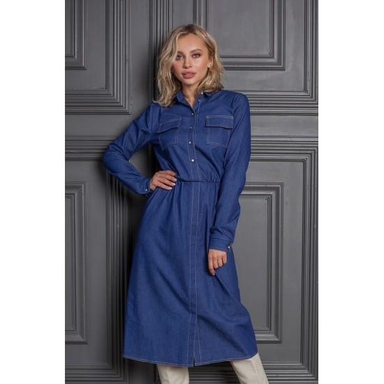 3323.36 Платье джинс