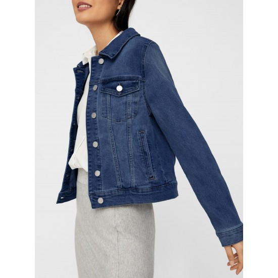 T4F W2906.35 (002-1-coll) куртка джинсовая жен (S) (5)