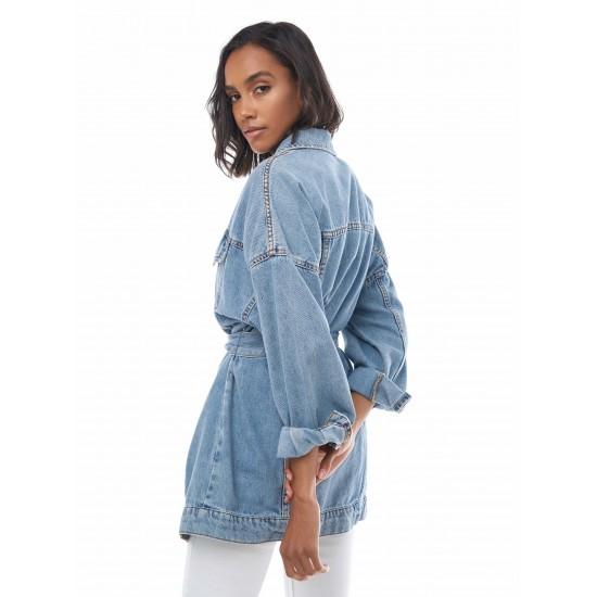 T4F W2908.33 (002-1-coll) куртка джинсовая жен (S) (5)