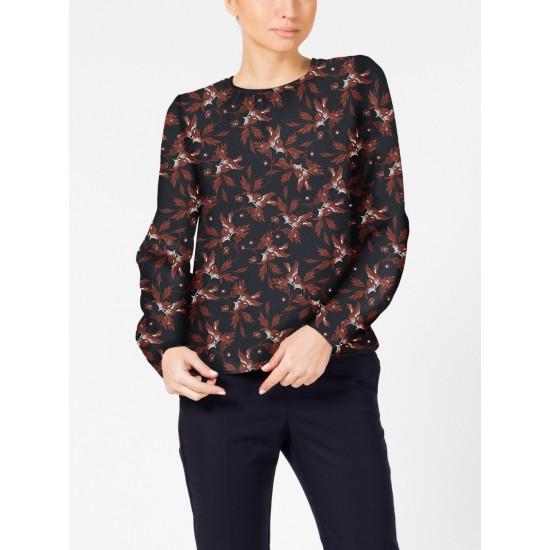 T W1533.86 (709-2-coll) блузка жен