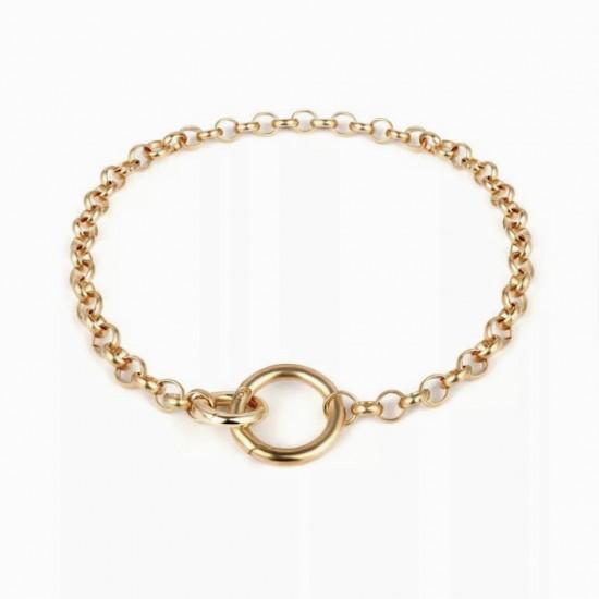 1105.01 Ожерелье цепь кольца