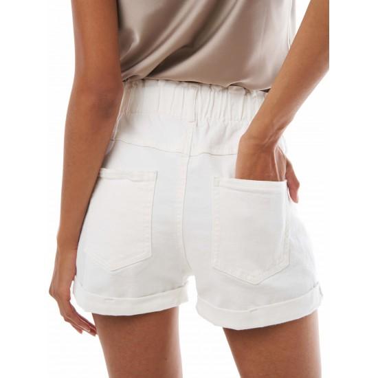 T4F W2950.50 (003-1-coll) шорты джинсовые жен (S) (5)