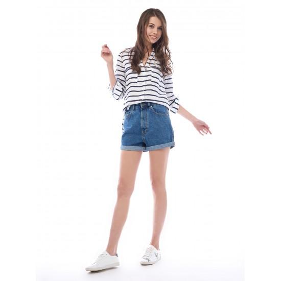 T4F W2951.35 (003-1-coll) шорты джинсовые жен (B) (4)