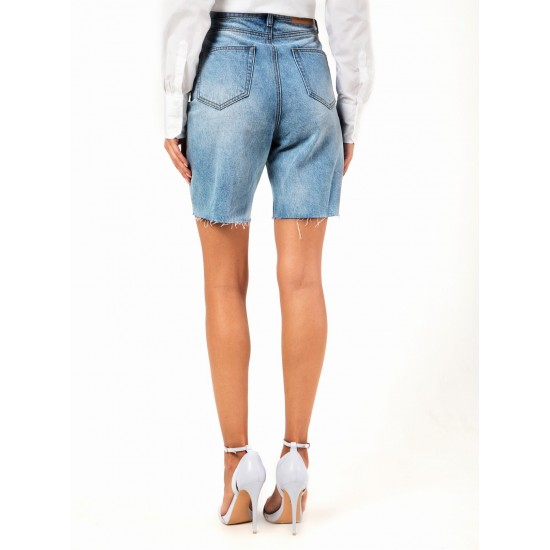 T4F W2959.33 (003-1-coll) шорты джинсовые жен (S) (5)