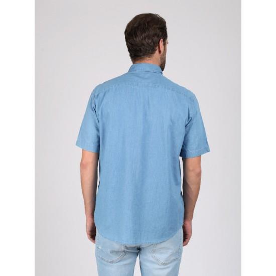 T M2420.33 (803-1-coll) рубашка джинсовая муж (S) (6)