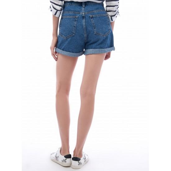 T4F W2951.35 (003-1-coll) шорты джинсовые жен (S) (5)
