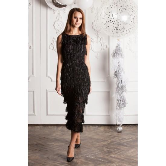 Платье с бахромой ПЛ2026.58