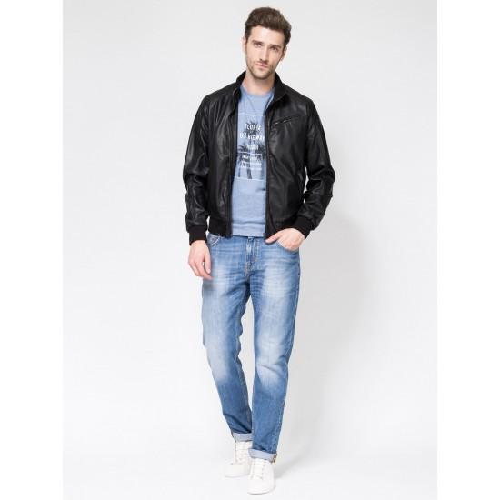 T4F M9050.58 (702-1) куртка (иск.кожа) муж XL