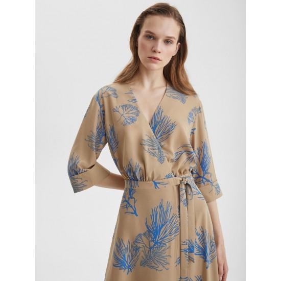 A 902.12 Платье макси с запахом