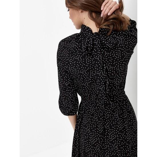El_W10827_черный Платье жен