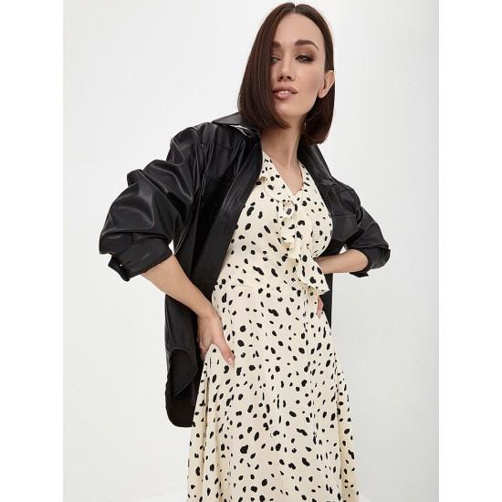 El_W10844_молочный Платье жен