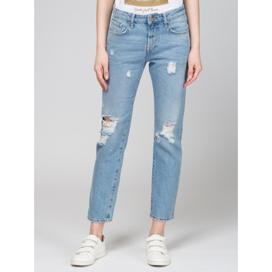 T W2714.35 (702-2-coll) брюки джинсовые жен 32