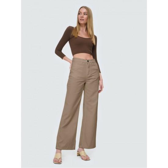 T4F W5845.16 (102-2-coll) брюки джинсовые жен 32 (S) (8)