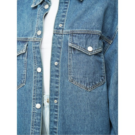 T4F W5922.33 (103-1-coll) рубашка джинсовая жен (S) (4)