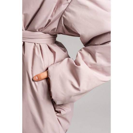 D B038-11-42.60 Пальто с запах