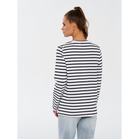 T W4645.67 (108-1-coll) футболка (фуфайка) с дл.рукавом жен (B) (2)