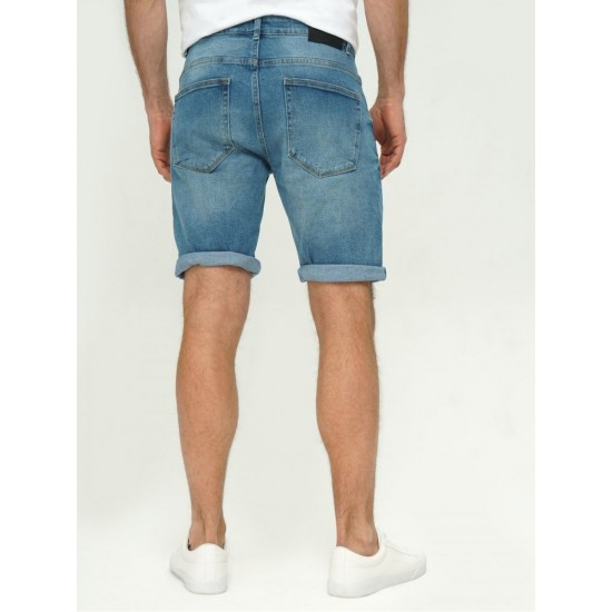 T4F M2451.35 (003-1-coll) шорты джинсовые муж (Y) (7)
