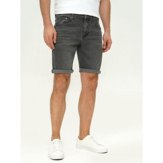 T4F M2452.55 (003-1-coll) шорты джинсовые муж (Y) (7)