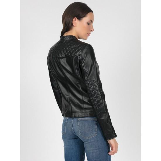 T4F W9544.58 (702-1) куртка (иск.кожа) жен