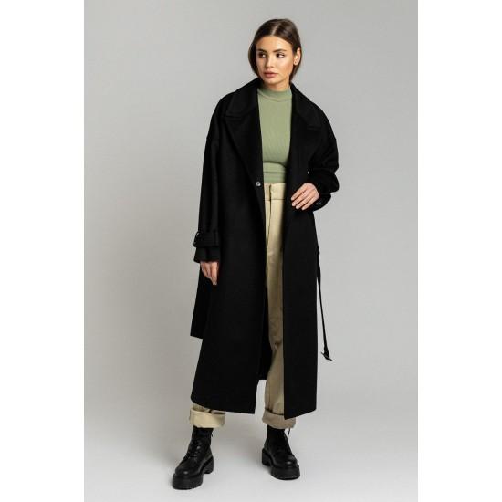D Д035-12.58 Пальто (Черный)