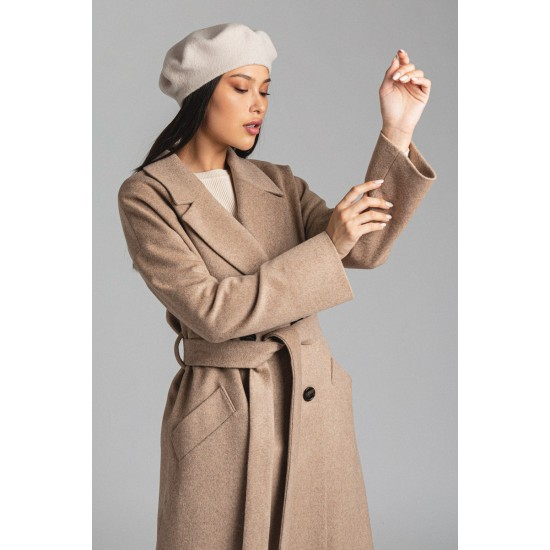 D Д033-12.14 Пальто (Бежевый)