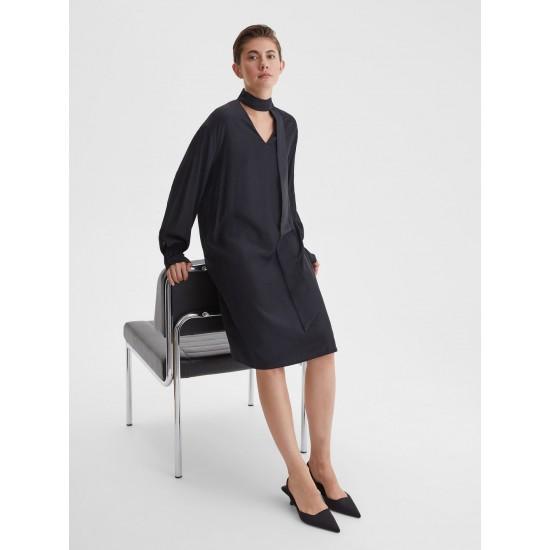 A 5319.58 Платье с завязками на шее