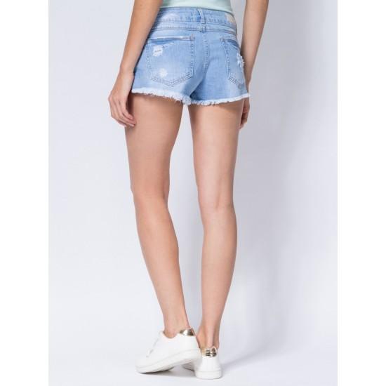 T W2952.32 (701-2-coll) шорты джинсовые жен